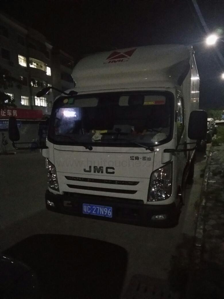 广东省广州市到广东省中山市 厢式密封车 空车配货